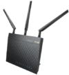 Asus RT-AC66U AC1750 Black Diamond Dual-Band Power WLAN Router (802.11 a/b/g/n/ac, Gigabit LAN/WAN, USB 2.0, Print FTP UPnP VPN Server, IPv6, B33 SSID, AiRadar) -