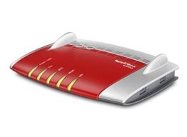 AVM FRITZ!Box 6430 Cable WLAN N (DOCSIS-3.0-Kabelmodem für Kabelanschluss, bis 450Mbit/s (2,4 GHz), VoIP-Telefonanlage, DECT-Basis) -