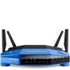 Linksys WRT1900ACS-EU Wireless AC1900 Open Source Router (1900Mbit/s, MU-MIMO, 4 Gigabit Ethernet Ports, 1x USB 3.0, 1x eSata Smart WiFi app), schwarz -