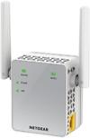 NETGEAR EX3700-100PES AC750 Universal WLAN Repeater (RJ-45, 750Mbit/s, An/Aus Schalter) weiß/silber -