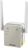NETGEAR EX6120-100PES AC1200 Universal WLAN Range Repeater (AC, Dual-Band, RJ-45, 1200Mbit/s, Access Point) weiß/silber -