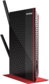 NETGEAR EX6200-100PES Universal WLAN Repeater (5 LAN-Ports, USB 3.0, 1200Mbps) schwarz/rot -