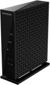 NETGEAR WNR2000-200PES N300 WLAN Router (300Mbit/s, 4x LAN-Ports, WPA) schwarz -