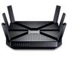TP-Link Archer C3200 WLAN Gigabit Router (Tri-Band, 802.11ac/a/b/g/n, 3200Mbit/s, Smart Connect, USB 3.0, USB 2.0, Print/Media/FTP Server, Tether app, Anschluss an Kabel/DSL/Glasfasermodem) schwarz -